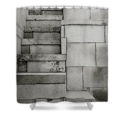 The Stairway Shower Curtain by Shaun Higson