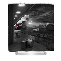 The Station Shower Curtain by Mike McGlothlen
