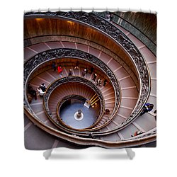 The Vatican Stairs Shower Curtain by Jouko Lehto