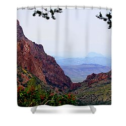 Shower Curtain featuring the photograph The Window by Dave Files