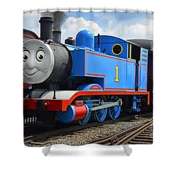 Thomas The Engine Shower Curtain