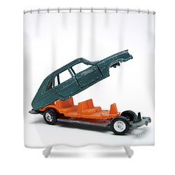 Toy Car Shower Curtain