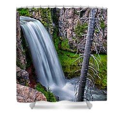 Tumalo Falls Shower Curtain