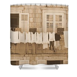Tuscan Laundry Shower Curtain