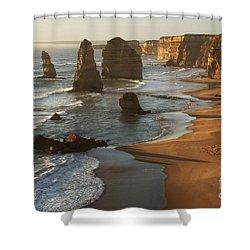 Twelve Apostles Australia Shower Curtain by Bob Christopher