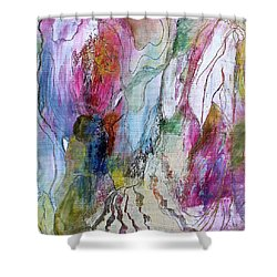 Under The Ice Of Venus Shower Curtain