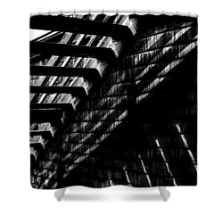 Under The Stairs Shower Curtain by David Patterson