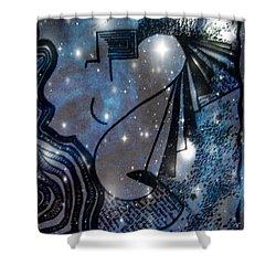 Universal Feminine Shower Curtain