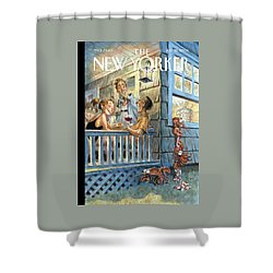 New Yorker July 28th, 2008 Shower Curtain