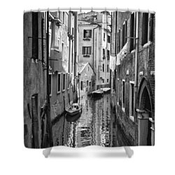 Venetian Alleyway Shower Curtain