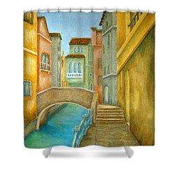 Venezia Shower Curtain by Pamela Allegretto