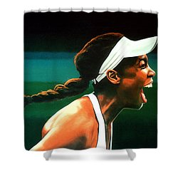 Venus Williams Shower Curtain