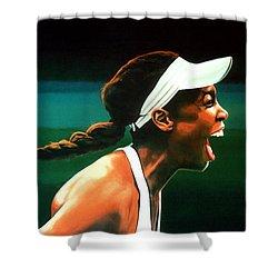 Venus Williams Shower Curtain