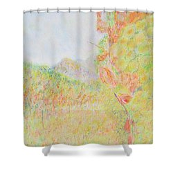 California Vineyard Shower Curtain