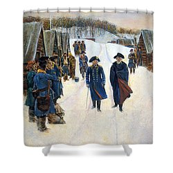 Washington: Valley Forge Shower Curtain by Granger