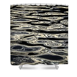Water Surface Shower Curtain by Elena Elisseeva