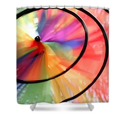 Shower Curtain featuring the photograph Wind Wheel by Henrik Lehnerer