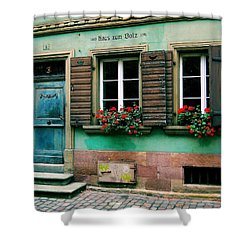 Shower Curtain featuring the photograph Windows And Doors 6 by Maria Huntley