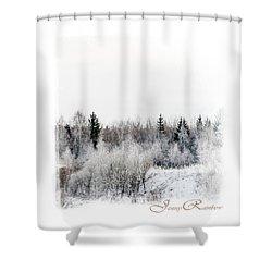 Winter Wonderland. Elegant Knickknacks From Jennyrainbow Shower Curtain by Jenny Rainbow