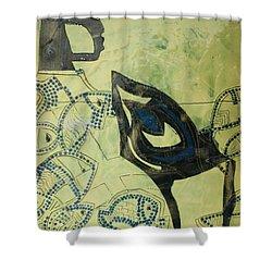 Wise Virgin Shower Curtain by Gloria Ssali