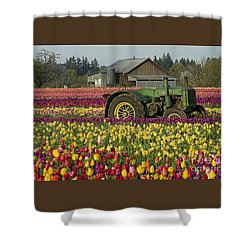 Shower Curtain featuring the photograph With Toil Comes Beauty by Nick  Boren