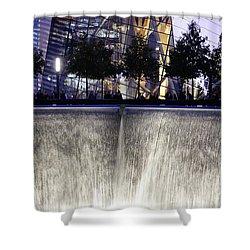 World Trade Center Museum Shower Curtain