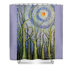 You Always Know Shower Curtain by Holly Carmichael