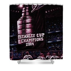 2004 Champs Shower Curtain by Marlon Huynh