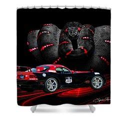 2010 Dodge Viper Shower Curtain