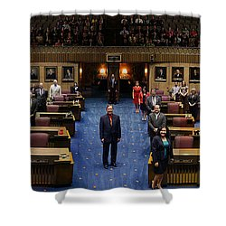 2013 Arizona Senate Portrait Shower Curtain