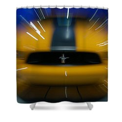 2013 Ford Mustang Shower Curtain
