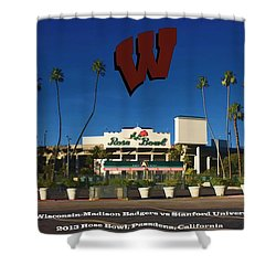 2013 Rose Bowl Pasadena Ca Shower Curtain by Tommy Anderson