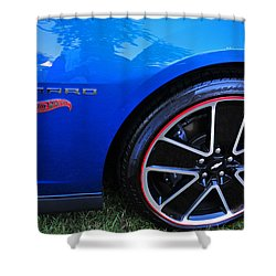 2014 Camaro Hot Wheels Shower Curtain