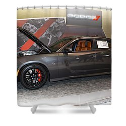 2015 Dodge Charger Srt Hellcat Shower Curtain