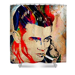 James Dean Collection Shower Curtain
