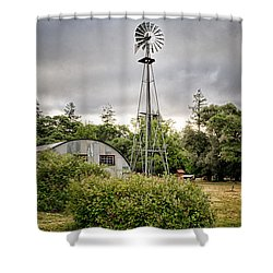 22 Shower Curtain by Betty Depee