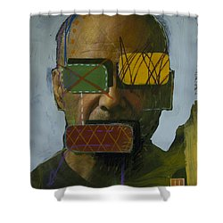 2262 Shower Curtain