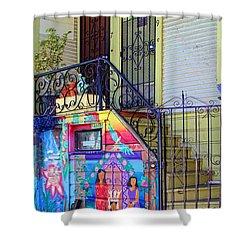 25 Balmy Alley San Francisco Shower Curtain