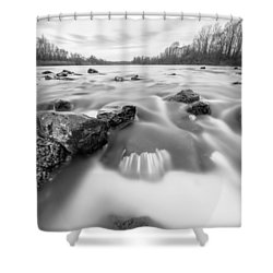 Shower Curtain featuring the photograph 25. December by Davorin Mance