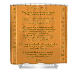 29- The Guest House Shower Curtain by Joseph Keane