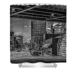 2nd Street Shower Curtain by Ray Congrove