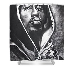 2pac - Thug Life Shower Curtain