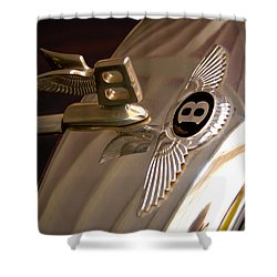 1956 Bentley S1 Shower Curtain by David Patterson