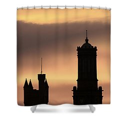 Aberdeen Silhouettes  Shower Curtain