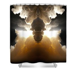 Abstract 125 Shower Curtain by J D Owen