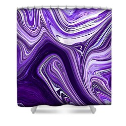 Abstract 39 Shower Curtain by J D Owen