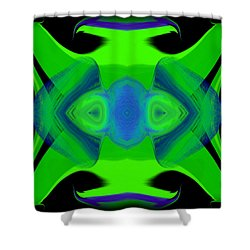 Abstract 46 Shower Curtain