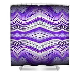 Abstract 49 Shower Curtain