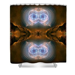 Abstract 54 Shower Curtain by J D Owen