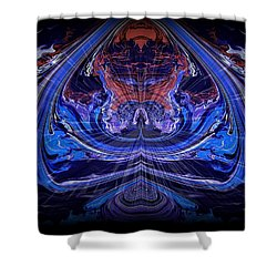 Abstract 71 Shower Curtain by J D Owen